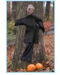 Forum Peeping Tree Hugger Halloween Outdoor Prop, Black Brown