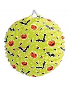 """Unique Spooky Halloween Bats Hanging Decoration 9"""" Paper Lantern"""
