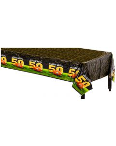 "Amscan Super Bowl 50 NFL Football Party Tableware 54"" x 96"" Plastic Tablecover"