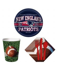 AFC  Super Bowl 53 Table Party Supply Pack for 8 New England Patriots