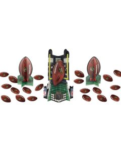 Amscan Football Super Bowl NFL Drive Table Decorating Kit 23pc Decoration Pack