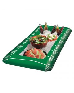 "Amscan Football Field Party 50"" x 24"" Inflatable Drink Cooler, Green White"