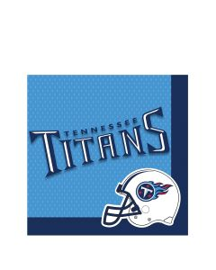 "TENNESSEE TITANS Football Party 2-Ply 13"" Luncheon Napkins, Blue, 16 CT"