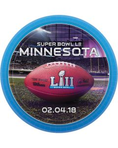 "Amscan 2018 Super Bowl LII 52 Football Party 7"" Dessert Plates, 8 CT"