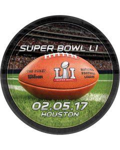 Super Bowl LI 51 Officially Licensed NFL Stadium 9 Inch Dinner Plates, 8 CT