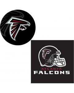 Atlanta Falcons FootballTable Decoration 24pc Party Pack, Red Black