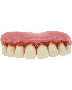 Billy Bob Da Full Grill Hill-Billy False Teeth w Thermal Beads, Adult One-Size