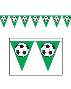 "Beistle FIFA World Cup 2014 Soccer Ball Flag 10"" x 12' Pennant Banner"