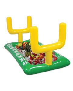 Football Field Goal Post Party Inflatable Buffet Cooler - 4.5ft by 2.5ft