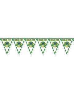 "Beistle FIFA World Cup 2014 Soccer Brazil 11"" x 7' 4"" Pennant Banner"