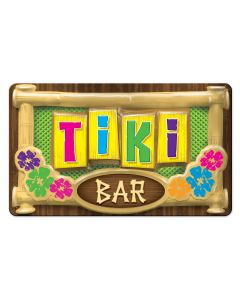 "Beistle 3D Luau Hawaiian Summer Party Tiki Bar Decoration 19"" Sign"