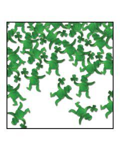 Beistle Leprechaun Seasonal Party Confetti .5oz Party Confetti, Green