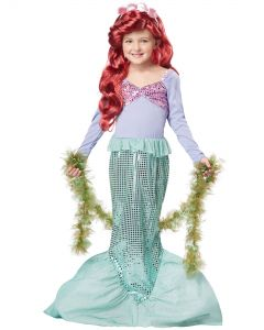 California Costumes Halloween Mermaid Seaweed Accessory Boa, Green, One-Size 72""