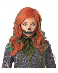 California Costumes Pumpkin Vines Halloween Wig, Orange Green, One-Size