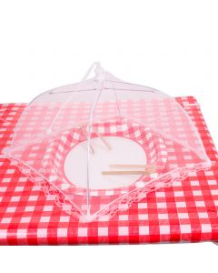 "Chef Craft Mesh Picnic and BBQ Food Tent 12"" Food Cover, White"