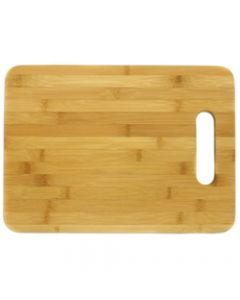 "Chef Craft Platinum Series Heavy Duty Bamboo 9.5""x12.5"" Cutting Board, Brown"