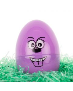 """Chef Craft Easter Egg Character 6.5"""" Storage Container, Purple"""