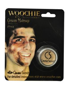 Deadguy Zombie Highly Pigmented Cream Makeup .125oz FX Accessory, Fleshtone Grey