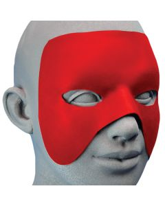 Cinema Secrets Make a Hero Mask 5pc Latex Mask, Red, One Size