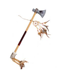 Funny Fashion Native Fantasy Catcher Tomahawk Axe, Brown Grey, 25.5""