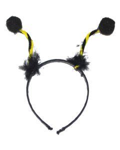 Cute Honey Bee Bug Antenna Costume Headband Boppers, Yellow Black, One-Size