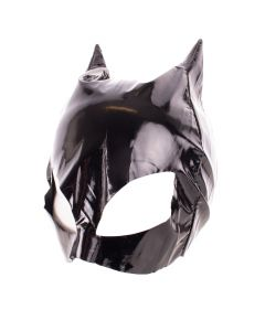 Funny Fashion Catwoman Halloween Costume Face Mask, Black, One-Size