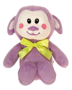 "Veil Entertainment Soft Easter Plush Lamb 6"" Plush Animal, Purple Green"