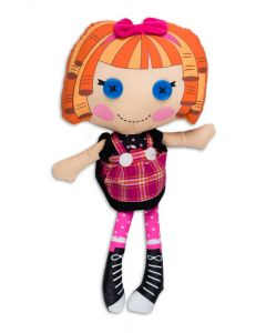 "Fiesta Lalaloopsy Bea Spells-a-Lot 13""T by 7""W Plush Doll, Orange Multi"