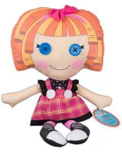 """Fiesta Lalaloopsy Bea Spells-a-Lot 16.5""""T by 9""""W Plush Doll, Orange Multi"""