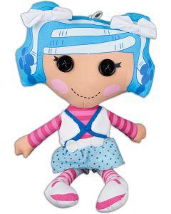 """Fiesta Lalaloopsy Mittens Fluff 'N' Stuff 16.5""""T by 9""""W Plush Doll, Blue Purple"""