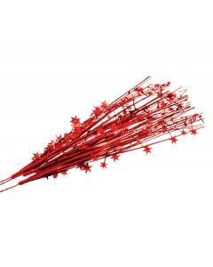 "SKD Stars Team Spirit School Color 19"" Decorative Sprays, Red, 12 Pack"