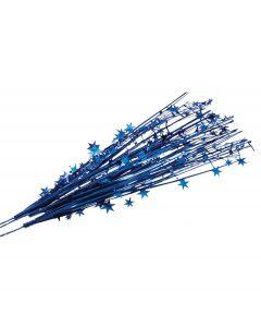 "SKD Stars Team Spirit School Color 19"" Decorative Sprays, Royal Blue, 12 Pack"