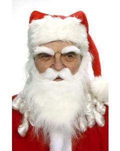 "Forum Bushy Santa Claus Old Man Costume Eyebrows, White, One-Size 2.5"""