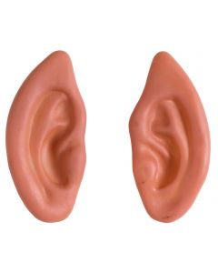 Forum Holiday Elf Fantasy Pointed Ears 2pc Latex Appliance, Beige, One-Size