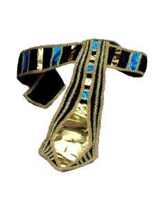 Forum Egyptian Pharaoh Character Costume Belt, Black, One-Size