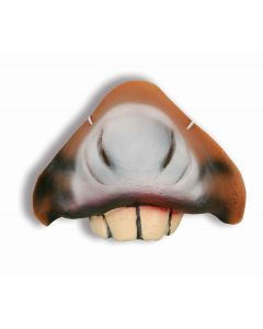 Forum Donkey Nativity Costume Accessory Nose, Brown, One-Size