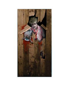 Forum Zombie Break Out Giant Halloween Poster 6ft by 3ft Door Cover
