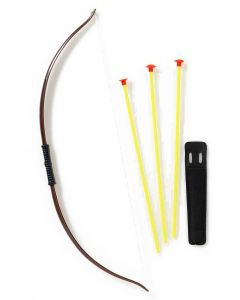 Forum Halloween Robin Hood Marksman 5pc Bow and Arrow Set, Brown Yellow, 28""