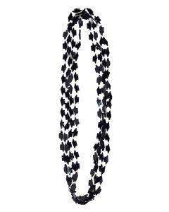 Forum Graduation Cap Party Favor Beads Necklaces, Black, 4 Pack
