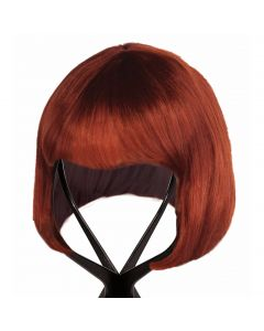 Forum Folding Collapsible Lightweight Plastic Wig Stand, Black, 10""