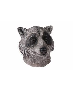 Forum Racoon Animal Costume Full Head Mask, Grey Black, One-Size