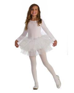 Forum Halloween Cosplay Child Classic Multi Layered Tutu Skirt, White, One-Size