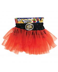Forum Child Superhero Lightning Bolt Costume Tutu Skirt, Red, One-Size