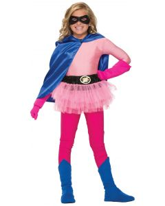 Forum Child Superhero Lightning Bolt Costume Tutu Skirt, Pink, One-Size