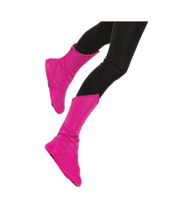Forum Child Superhero Costume Accessory Angled Boot Covers, Pink, One-Size