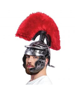 Forum Halloween Super Deluxe Roman Galea Costume Helmet, Silver, One-Size