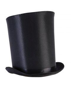 "Forum Halloween Steampunk Accessory Extra Tall Top Hat, Black 12"""