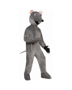 Forum Rare Rat Complete 2pc Mascot Costume, Grey, One-Size