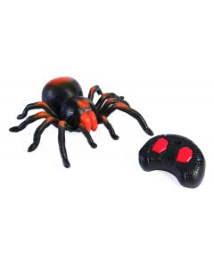 "Forum Halloween Remote Control Spider 2pc 16"" Animated Prop, Black Orange"