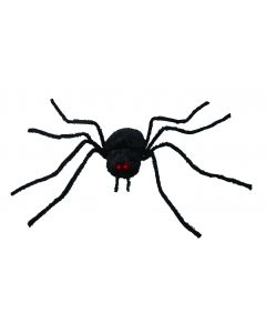"Forum Spider Haunted House Halloween Decor 54"" Animated Prop, Black"